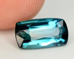 Lagoon Blue Color 1.70 Ct Tourmaline From Afghanistan. ARA1