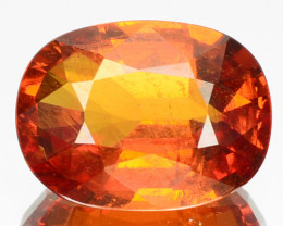 4.60 Cts Unheated Natural Mandarin Orange Spessartite Garnet OvalCut Namibi