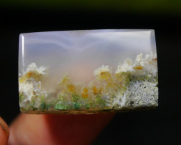 38.65 CT UNTREATED Beautiful Indonesian Moss Agate Picture