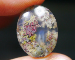 10.30 CT UNTREATED Beautiful Indonesian Moss Agate Picture