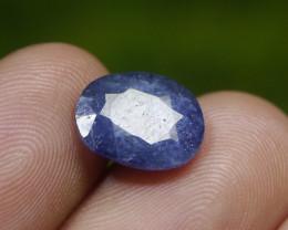 4.55 CT BLUE SAPPHIRE NATURAL GEMSTONE