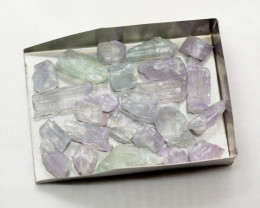 280 CT Natural Kunzite Crystals From Afghanistan