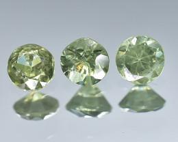 0.44 Crt Natural Demantoid Garnet Faceted Gemstone.( AB 10)