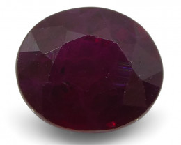 0.82 ct Oval Ruby Mozambique