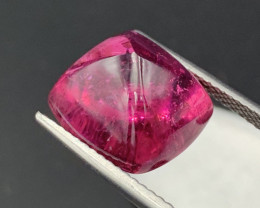 17.80 Cts! Sugarloaf Top Quality Red Color Tourmaline Rubellite $5000