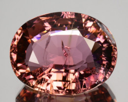 8.20 Cts Dazzling Natural Tourmaline Pink Oval Mozambique