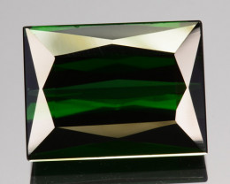 5.48 Cts Natural Neon Green Tourmaline Octagon Cut Nigeria