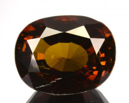 6.61 Cts Beautiful Luster Orange Tourmaline Mozambique Gem