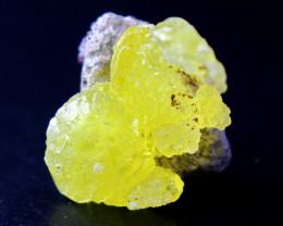 30.70 CT Natural Unheated Rare Yellow Brucite Specimen