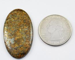 Genuine 38.00 Cts Oval Shape Bronzite Cabochon