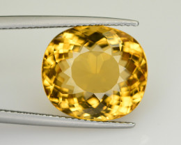 9.55 Ct Natural Heliodor ~ AAA Grade ~ Yellow Color