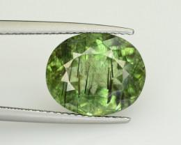 6.35 CT Natural Beautiful Rutile Peridot Gemstone
