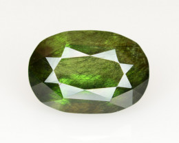 9.35  CT Natural Beautiful Rutile Peridot Gemstone