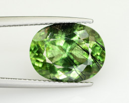 6.85 CT Natural Beautiful Rutile Peridot Gemstone