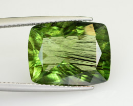 11.80 CT Natural Beautiful Rutile Peridot Gemstone
