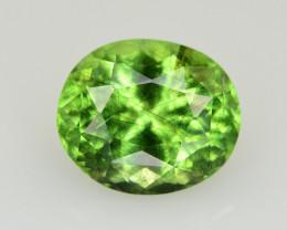 4.55 CT Natural Beautiful Rutile Peridot Gemstone