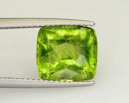 4.80 CT Natural Beautiful Rutile Peridot Gemstone