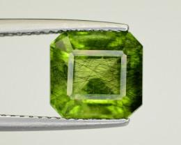 4 CT Natural Beautiful Rutile Peridot Gemstone
