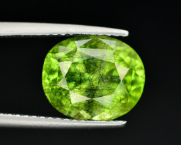 4.25 CT Natural Beautiful Rutile Peridot Gemstone
