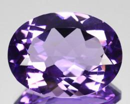 8.20 Cts Natural AAA Purple Amethyst 16x12mm Oval Cut Bolivia