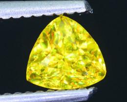 Rare AAA Fire 0.73 ct Malayaite Sphene Sku-47
