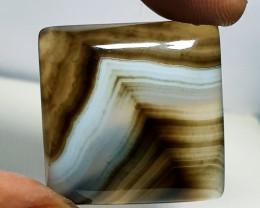 52.55 ct Natural Botswana Agate Octagon Cabochon  Gemstone