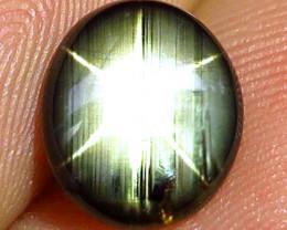 3.34 Carat Thailand Black Star Sapphire - Lovely