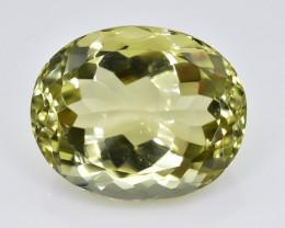 14.23 Crt Lemon Quartz Faceted Gemstone (Rk-66)