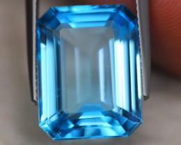 15.92ct Natural Swiss Blue Topaz Octagon Cut Lot GW5246