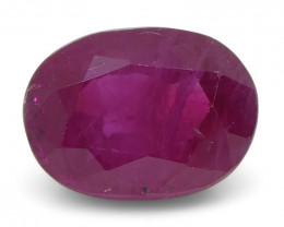0.81 ct Oval Ruby Burma