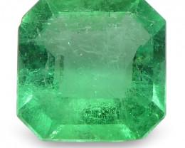 $1 No Reserve Auction - 0.56 ct Emerald Cut Emerald Colombian
