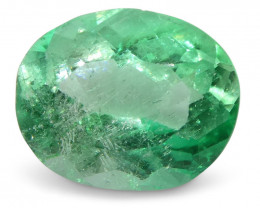 0.88 ct Oval Emerald Colombian