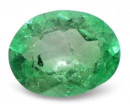 0.89 ct Oval Emerald Colombian