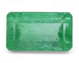 0.63 ct Baguette Emerald Colombian