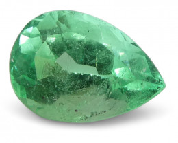 0.65 ct Pear Emerald Colombian
