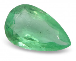 0.57 ct Pear Emerald Colombian