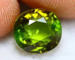 Green Tourmaline 3.12Ct Natural Nigeria Green Tourmaline B1105
