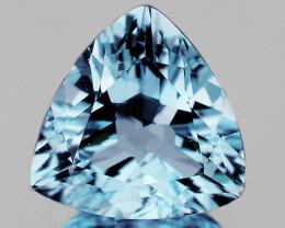10.00 mm Trillion 4.13cts Light Sky Blue Topaz [VVS]