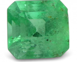 0.58 ct Squarre Emerald Colombian