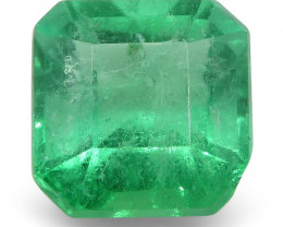 0.63 ct Square Emerald Colombian