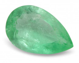 0.8 ct Pear Emerald Colombian