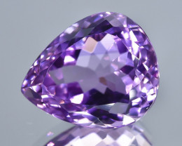 14.08 Crt Natural Amethyst Faceted Gemstone.( AB 11)