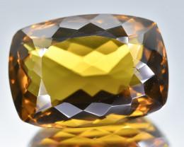 10.89 Crt Natural Conic Quartz Faceted Gemstone.( AB 11)