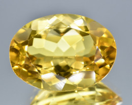 11.79 Crt Natural Citrine Faceted Gemstone.( AB 11)