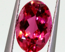 1.44CTS TOURMALINE FACETED REDY PINK PG-2073
