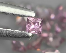 0.75 CTS UNHEATED AWESOME PINK SAPPHIRE FACETED GENUINE 20 PCS