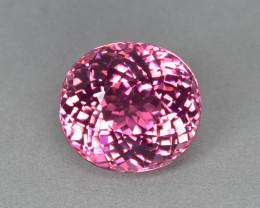 4.05 Cts Amazing Wonderful Perfect Ring Size Natural Pink Tourmaline