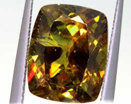5.65 CTS  SPHENE FACETED GEMSTONE PG-3212