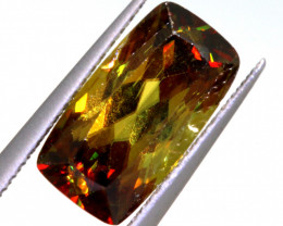 3.44 CTS  SPHENE FACETED GEMSTONE PG-3213