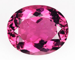 5.06 Cts BRILLIANT NATURAL TOURMALINE - NICE PINK - OVAL - MOZAMBIQUE